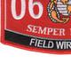 0612 Field Wireman MOS Patch | Lower Left Quadrant