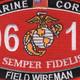 0612 Field Wireman MOS Patch | Center Detail