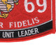 0369 Infantry Unit Leader MOS Patch | Lower Right Quadrant