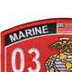 0351 Assaultman MOS Patch | Upper Left Quadrant