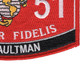 0351 Assaultman MOS Patch | Lower Right Quadrant
