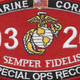 0326 Special Ops Recon MOS Patch | Center Detail