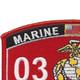 0323 Parachute Reconnaissance Man MOS Patch | Upper Left Quadrant
