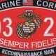 0321 Reconnaissance Man MOS Patch | Center Detail
