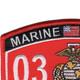 0321 Reconnaissance Man MOS Patch | Upper Left Quadrant