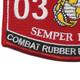 0316 Combat Rubber Recon Craft MOS Patch | Lower Left Quadrant