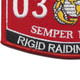 0314 Rigid Raiding Craft MOS Patch | Lower Left Quadrant