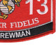 0313 Light Armored Vehicle (LAV) Crewman MOS Patch | Lower Right Quadrant