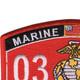 0312 Riverine Assault Craft MOS Patch | Upper Left Quadrant