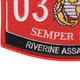 0312 Riverine Assault Craft MOS Patch | Lower Left Quadrant