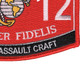 0312 Riverine Assault Craft MOS Patch | Lower Right Quadrant
