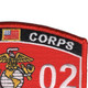 0302 Infantry Officer MOS Patch | Upper Right Quadrant