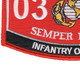 0302 Infantry Officer MOS Patch | Lower Left Quadrant