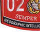0261 Geographic Intelligence Specialist MOS Patch | Lower Left Quadrant