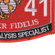 0241 Imagery Analysis Specialist MOS Patch   Lower Right Quadrant