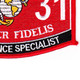 0231 Intelligence Specialist MOS Patch | Lower Right Quadrant