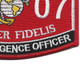 0207 Air Intelligence Officer Mos Patch | Lower Right Quadrant