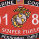 0182 Personnel Chief MOS Patch | Center Detail
