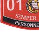 0182 Personnel Chief MOS Patch | Lower Left Quadrant