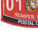 0161 Postal Clerk MOS Patch | Lower Left Quadrant