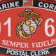 0161 Postal Clerk MOS Patch | Center Detail