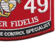 0149 Substance Abuse Control Specialist MOS Patch | Lower Right Quadrant