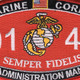 0141 Administration Man MOS Patch   Center Detail