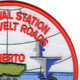 Roosevelt Roads Puerto Rico Naval Station Patch | Upper Right Quadrant