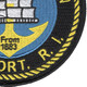 Newport Naval Station Rhode Island Patch | Lower Right Quadrant