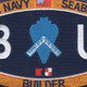 Navy Seabee Builder Rating Hat Patch | Center Detail