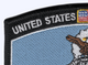 Security Police Retired Patch | Upper Left Quadrant