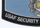 Security Police Retired Patch | Lower Left Quadrant
