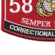 5831 MOS Correctional Specialist Patch | Lower Left Quadrant