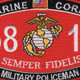 5811 Military Policeman MOS Patch | Center Detail