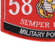 5811 Military Policeman MOS Patch | Lower Left Quadrant