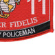 5811 Military Policeman MOS Patch | Lower Right Quadrant