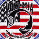 POW MIA Stars and Stripes Patch | Center Detail