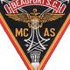 Marine Corps Air Station Beuafort South Carolina Patch | Center Detail