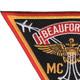 Marine Corps Air Station Beuafort South Carolina Patch | Upper Left Quadrant