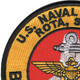 Naval Station Rota Spain Patch | Upper Left Quadrant