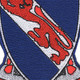 508th Airborne Infantry Regiment Patch Fury From The Sky Vietnam | Center Detail