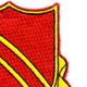 506th Field Artillery Battalion Patch WWII   Upper Right Quadrant