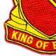 506th Field Artillery Battalion Patch WWII   Lower Left Quadrant