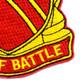 506th Field Artillery Battalion Patch WWII   Lower Right Quadrant
