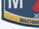 Engineering Rating Submarine Engineer Machinist Mate Patch