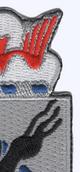 505th Airborne Infantry Regiment Patch H-Minus Vietnam | Upper Right Quadrant