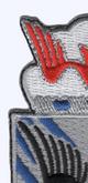 505th Airborne Infantry Regiment Patch H-Minus Vietnam | Upper Left Quadrant