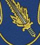 504th Airborne Infantry Regiment Patch Strike Hold | Center Detail