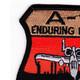 Fairchild Republic A-10 Thunderbolt II Patch Enduring Freedom   Upper Left Quadrant