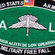 High Altitude Low Opening Parachutist MOS Patch HALO | Center Detail